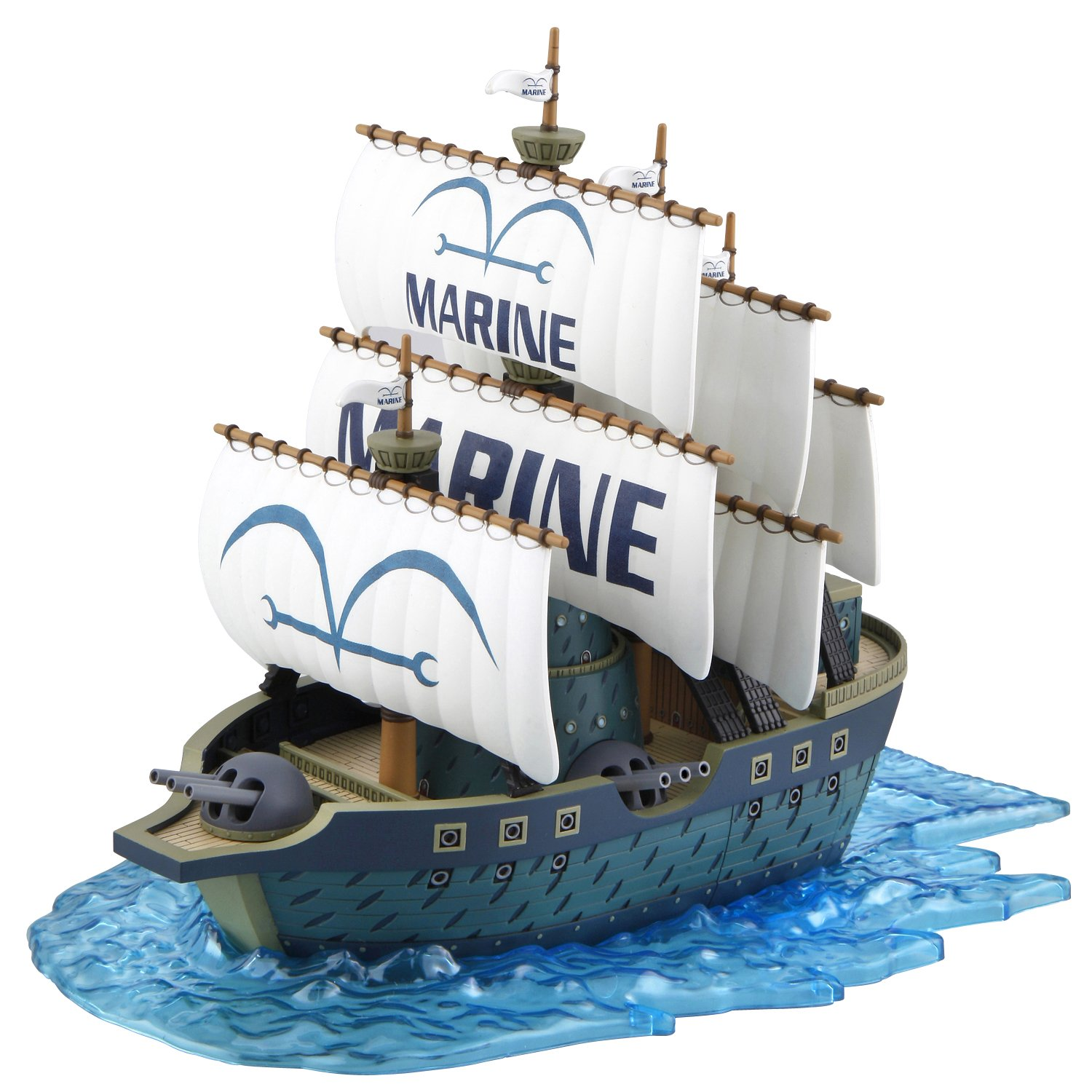 Bandai Hobby 07 Grand Collection Schiff Marine One Piece Model Kit Bluefin Distribution Toys BAN181585