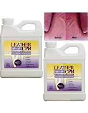 Leather CPR (2PK / 32oz Bottles) - Dermatologist Tested & 100% Irritant-Free Leather Cleaner & Conditioner for Your Home - Works Wonders on Furniture, Jackets, Shoes, Auto & More