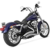 Vance and Hines Big Radius 2-Into-2 Full System Exhaust for Harley Davidson 200 - One Size