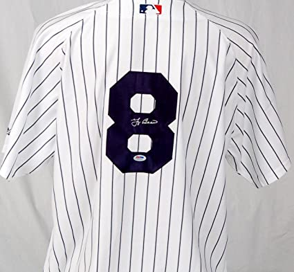 ab31d620b19 Yogi Berra Signed Jersey - Autographed MLB Jerseys at Amazon s Sports  Collectibles Store