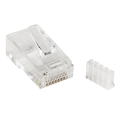 Amazon startech cat 6 rj45 modular plug for solid wire 50 startech cat 6 rj45 modular plug for solid wire 50 pack crj45c6sol50 publicscrutiny Images