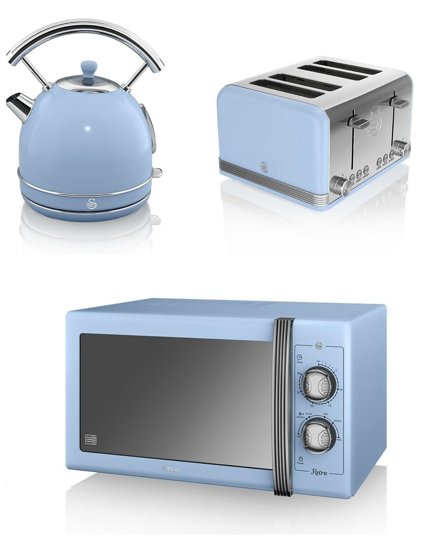 BLUE Swan Kitchen Appliance Retro Set - 25L Large Manual ...