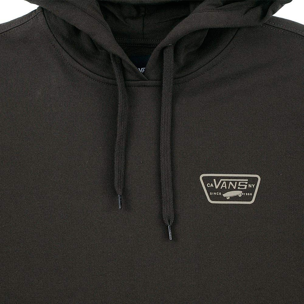 15ab7cce32 Vans Full Patched Pullover Hood Darkest Spruce  Amazon.co.uk  Clothing