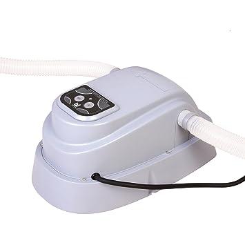 Calentador de Agua de Piscinas Bestway Calefacción Fuoriterra Autosustentadas Piscina