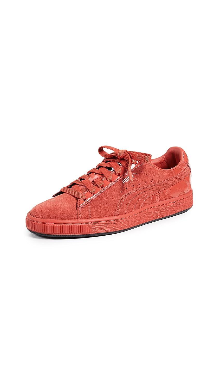 PUMA Women's x MAC ONE Classic Sneakers B07B4HGLJ1 8.5 B(M) US|Fiery Red/Fiery Red