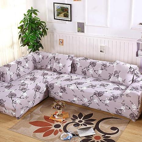 FENFANGAN Fundas De Sofas Chaise Longue 2 Pieces Covers For ...