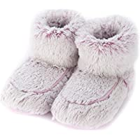 Warmies Womens/Ladies Microwavable Boot Slippers, 90 Seconds Warm Up in One Free Size of AUS: 5-9, Pink