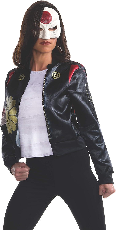 Fancy Dress Costume Suicide Squad Katana Costume Kit Sizes 8-16