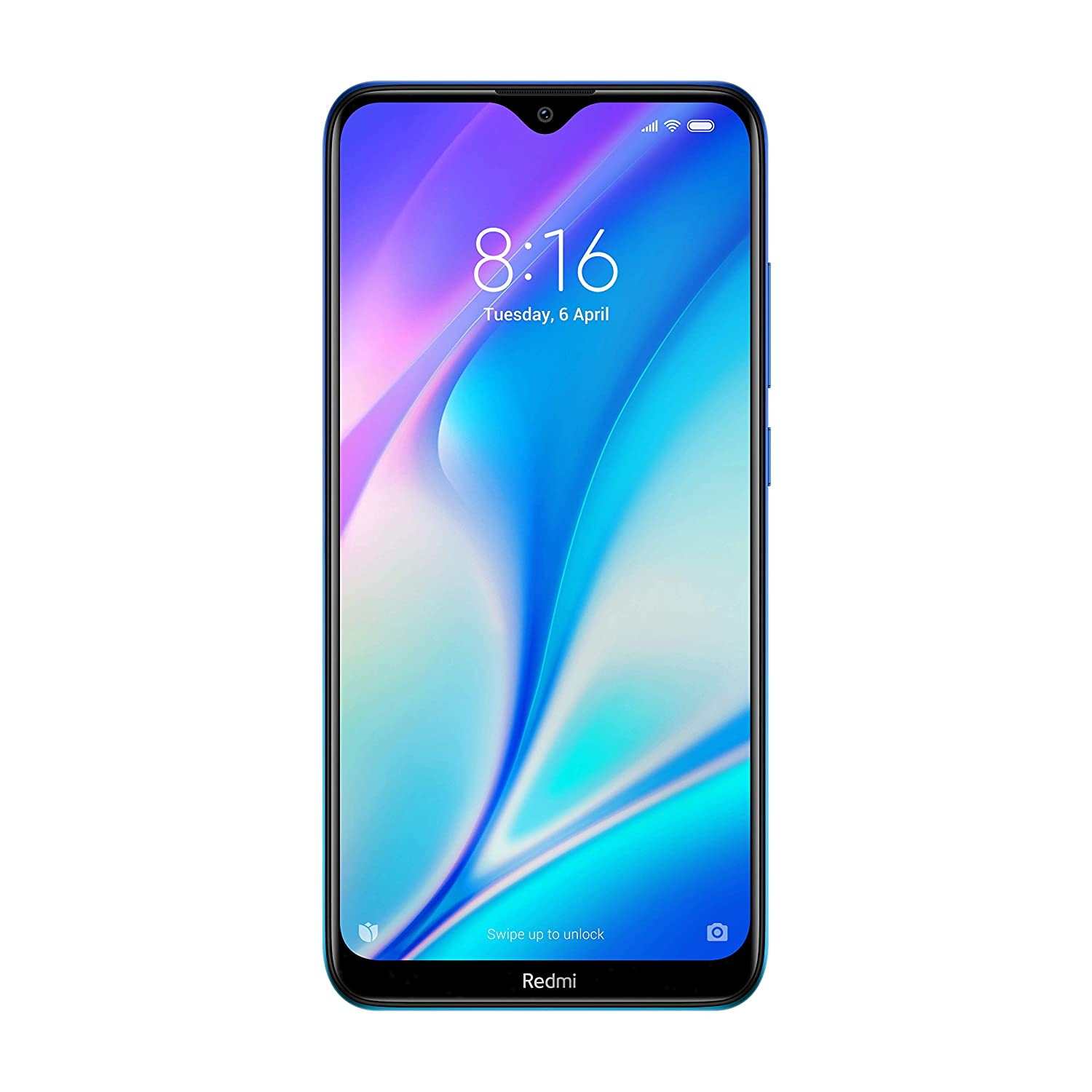 Redmi 8A Dual (Sea Blue, 3GB RAM, 64GB Storage) – Dual Cameras & 5,000 mAH Battery