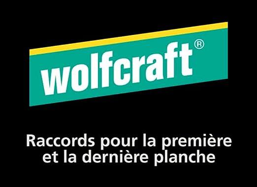 Wolfcraft 6973000 10 Raccords 60 Vis Tx20 Pour La Premi/ère Et Derni/ère Planche de Pose de Terrasse Bois