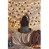 Photo Clip String Lights - 33Ft String Light with Clips, 100 LED Fairy String Lights with 50 Clear Clips, 8 Modes USB Powered