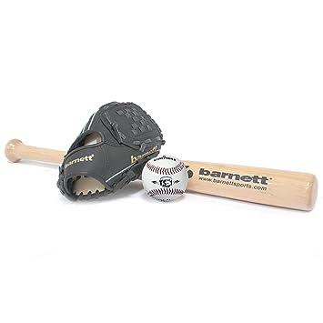 bgbw de 1 béisbol Juego Introducción, senior, madera, 1 + 1 bate, guante + Ball (1 x BB de W 32: Amazon.es: Deportes y aire libre