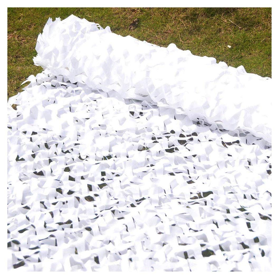 Tenda Da Sole Mimetica Net multi-size Opziona Adatta Per La Copertura Di Auto Decorazione Per Il Giardino Dellesercito Per Bambini Allaperto Tenda Di Stoffa Di Oxford Con Rete Ombreggiante Bianca