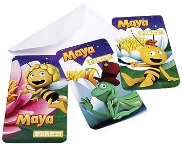 Amscan U2013 552358 U2013 6 Einladungskarten Und Umschläge Biene Maja