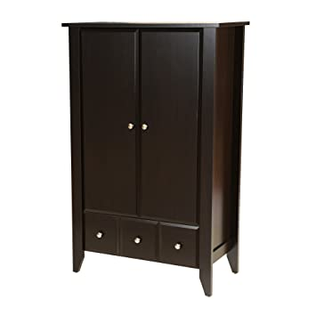 Attirant Amazon.com: Wardrobe Closet Armoire   Modern Contemporary Dresser Cabinet  With Drawers For Clothes Storage Clothing Bedroom Furniture (Jamocha Wood):  ...