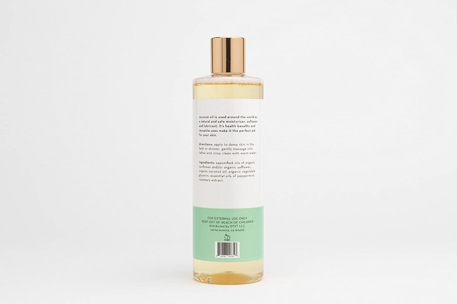 NDC Beauty: Organic Coconut Oil Castile Soap Body Wash by