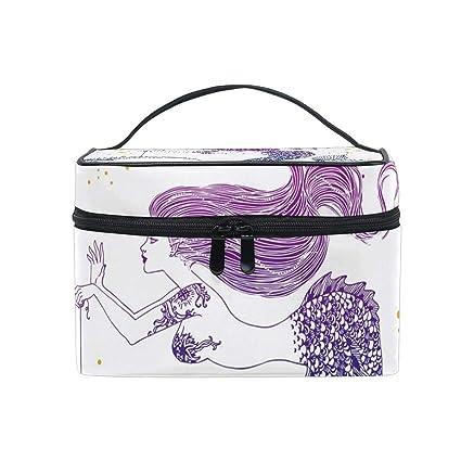 Amazon.com: Bolsa de cosméticos para pintar al óleo Londres ...