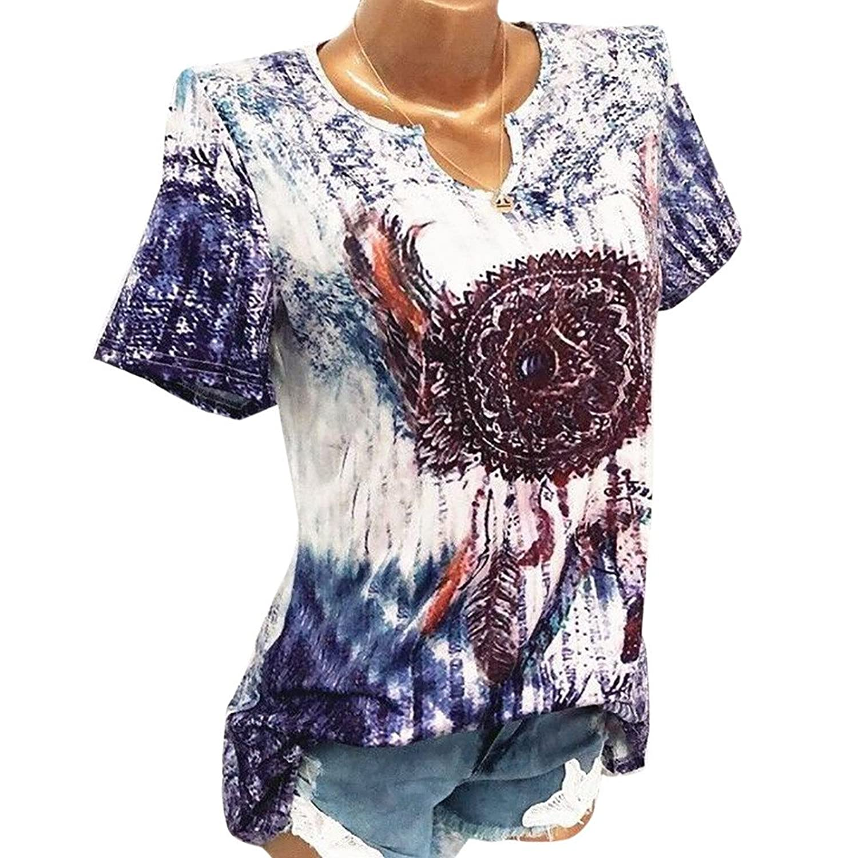 213adceeb89d66 Beste Damen T Shirt Top Sommer Tank Tops Frauen Kurzarm V Ausschnitt Shirt  Große Größe Wind