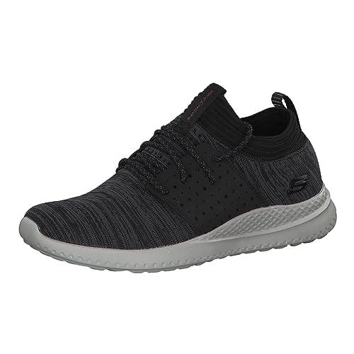 Skechers Uomo Nero Matera Knocto Sneaker