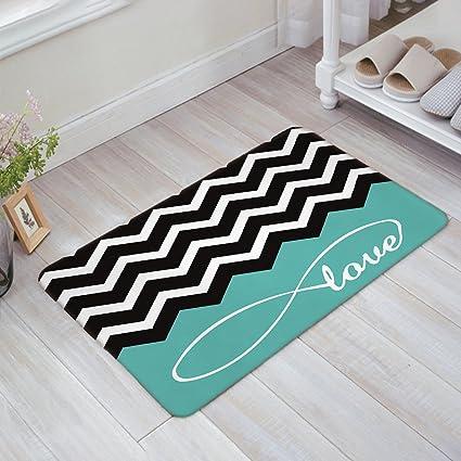 Amazon Com Stylish Indoor Doormat Welcome Mat Love