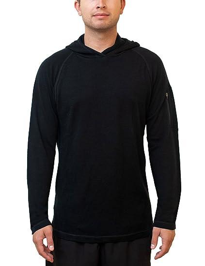 Amazon.com  WoolX Switchback - Men s Merino Wool Hoodie - Midweight ... dbd001172