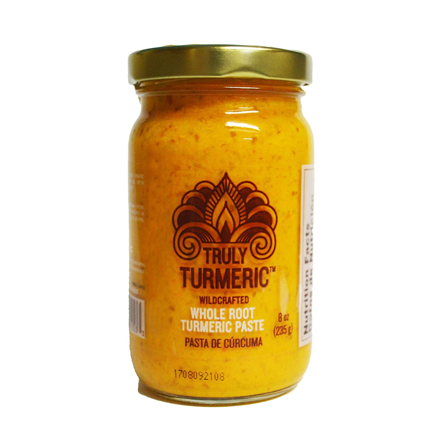 Truly Turmeric - Fresh Wildcrafted Whole Root Turmeric Paste | Turmeric Spice for Cooking and Golden Milk - 8oz (235g) - Original