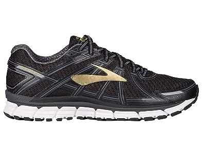9935bc27d22 Brooks Adrenaline GTS 17 Black Anthracite Gold Men s Running Shoes ...