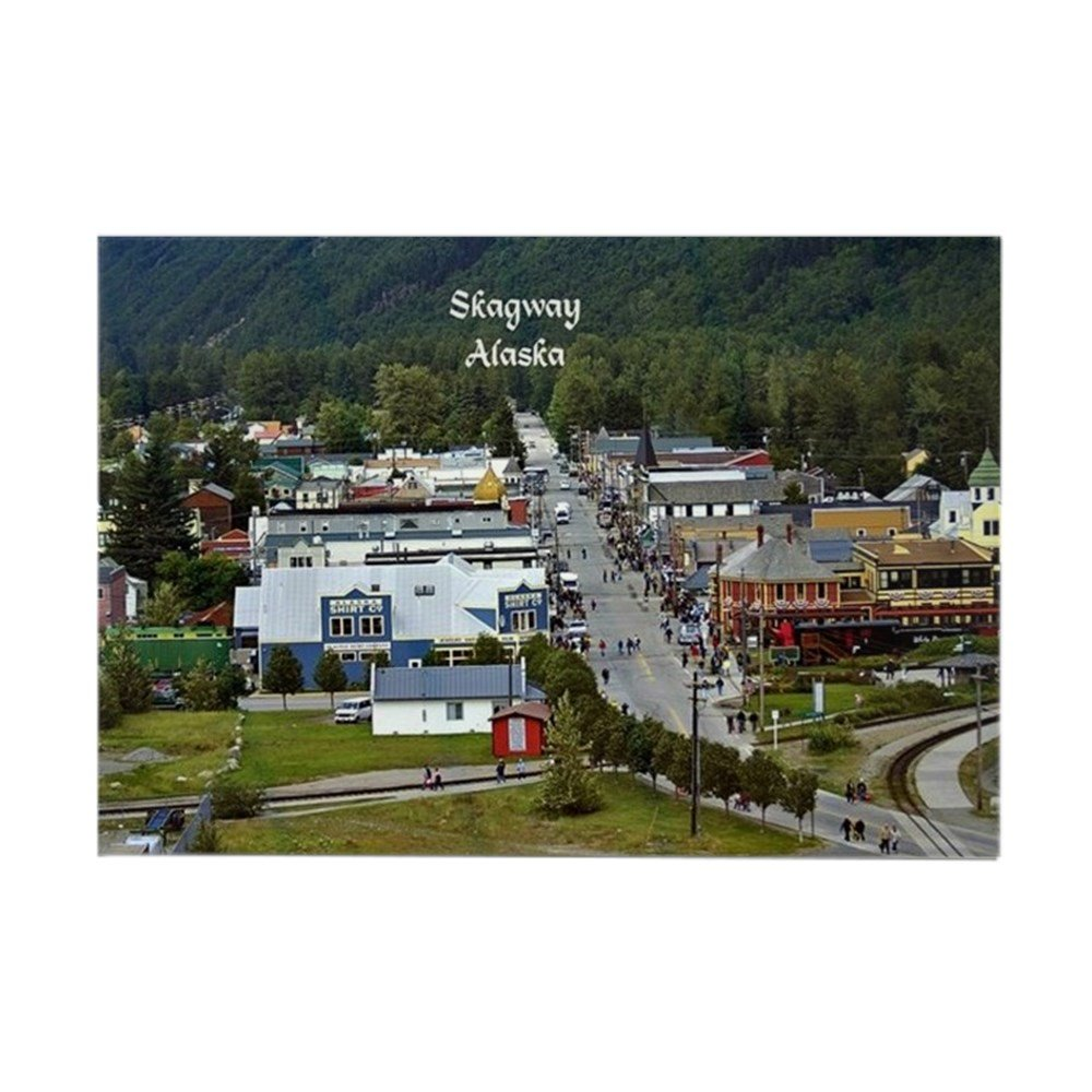 Amazon.com: CafePress – Skagway (Alaska) Scenic Photo ...