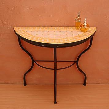 TABLES EN ZELLIGE, , TABLES DE MOSAÏQUE, TABLE EN ZELLIGE RONDE ...