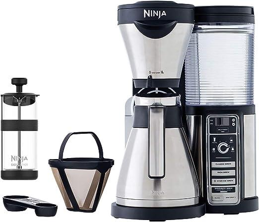Amazon.com: Ninja Auto-iQ Coffee Bar with Stainless Steel ...