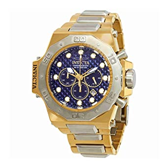 Invicta Mens 26043 Akula Quartz Chronograph Blue Dial Watch
