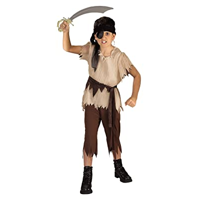 Haunted House Children's Costumes Pirate Boy - Child's Large: Toys & Games