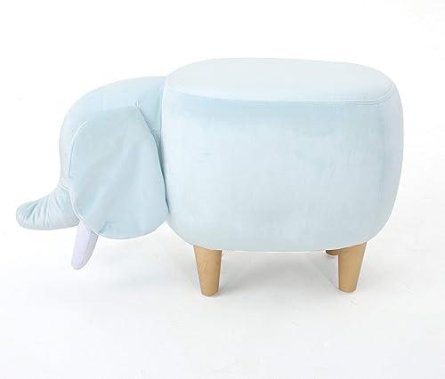 Keiki Rosie Velvet Elephant Ottoman