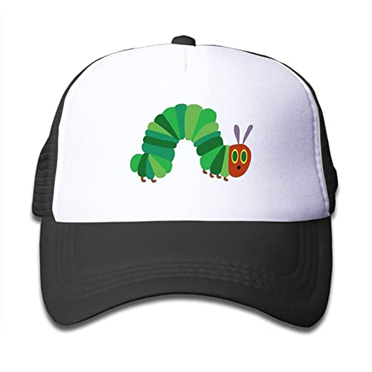 7a5b9cdce40 Image Unavailable. Image not available for. Color  The Very Hungry  Caterpillar Trucker Hat Adjustable ...