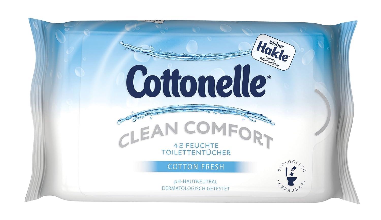 Cottonelle Feucht T. Clean Comfort, 42 Stück 42 Stück 45153