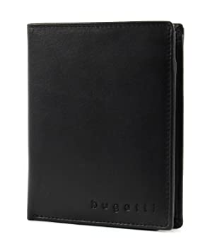 Bugatti Primo RFID Geldbörse Leder 10 cm: : Koffer