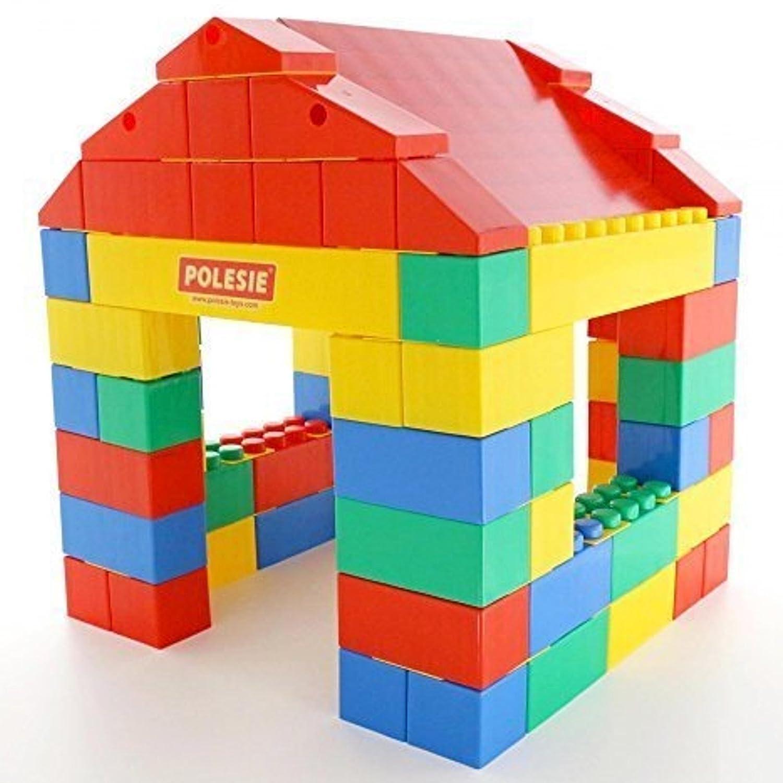 Wader Spielhaus aus Bausteinen - Haus aus XXL Bausteine