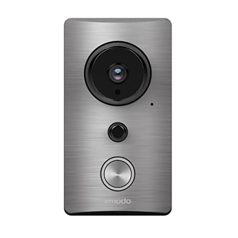 zmodo 720p hd wireless smart doorbell cnet