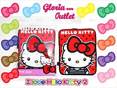 0c11bf4dd684 Amazon.com  Loungefly Hello Kitty Red Big Bow iPad Case SANIP0037  Shoes