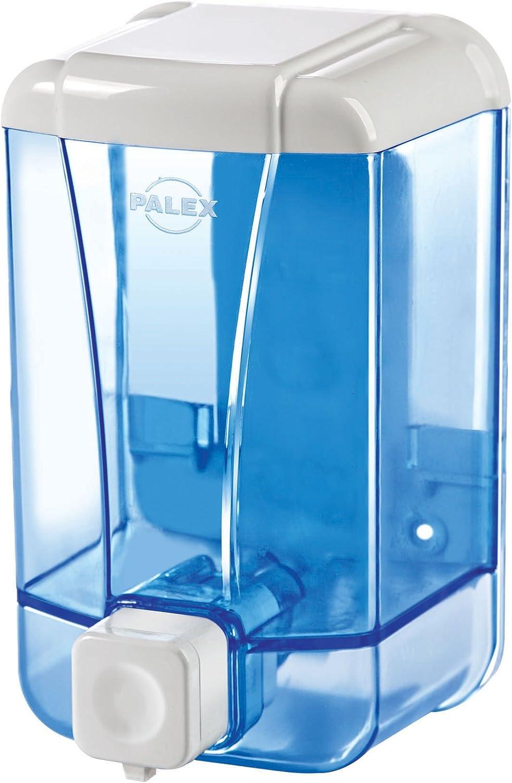 Palex Dispensador de Jabón Líquido, 500 CC, Azul Transparente ...