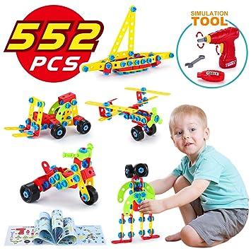 Lukat Bausteine Spielzeug Fur 5 6 7 8 9 Jahre Und Alter Kinder