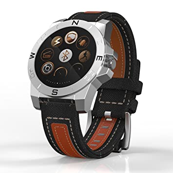 Bluetooth Smart Watch marrón Joven para redonda con pantalla ...
