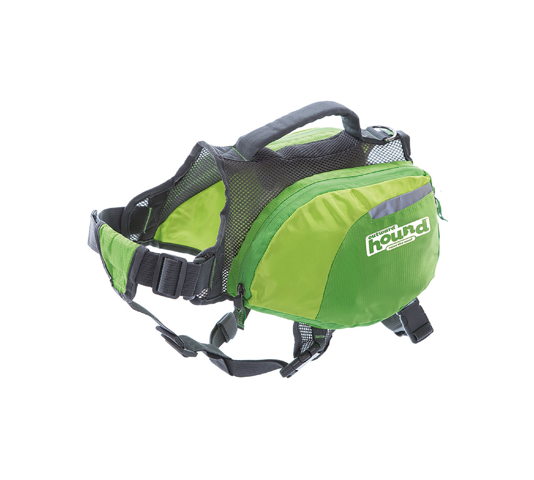 Daypak Dog Backpack Hiking Gear For Dogs by Outward Hound, Large, Green by Outward Hound