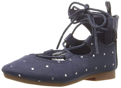 9942cedbfc062 OshKosh B'Gosh Karlie Girl's Flat, Navy, 5 M US Toddler
