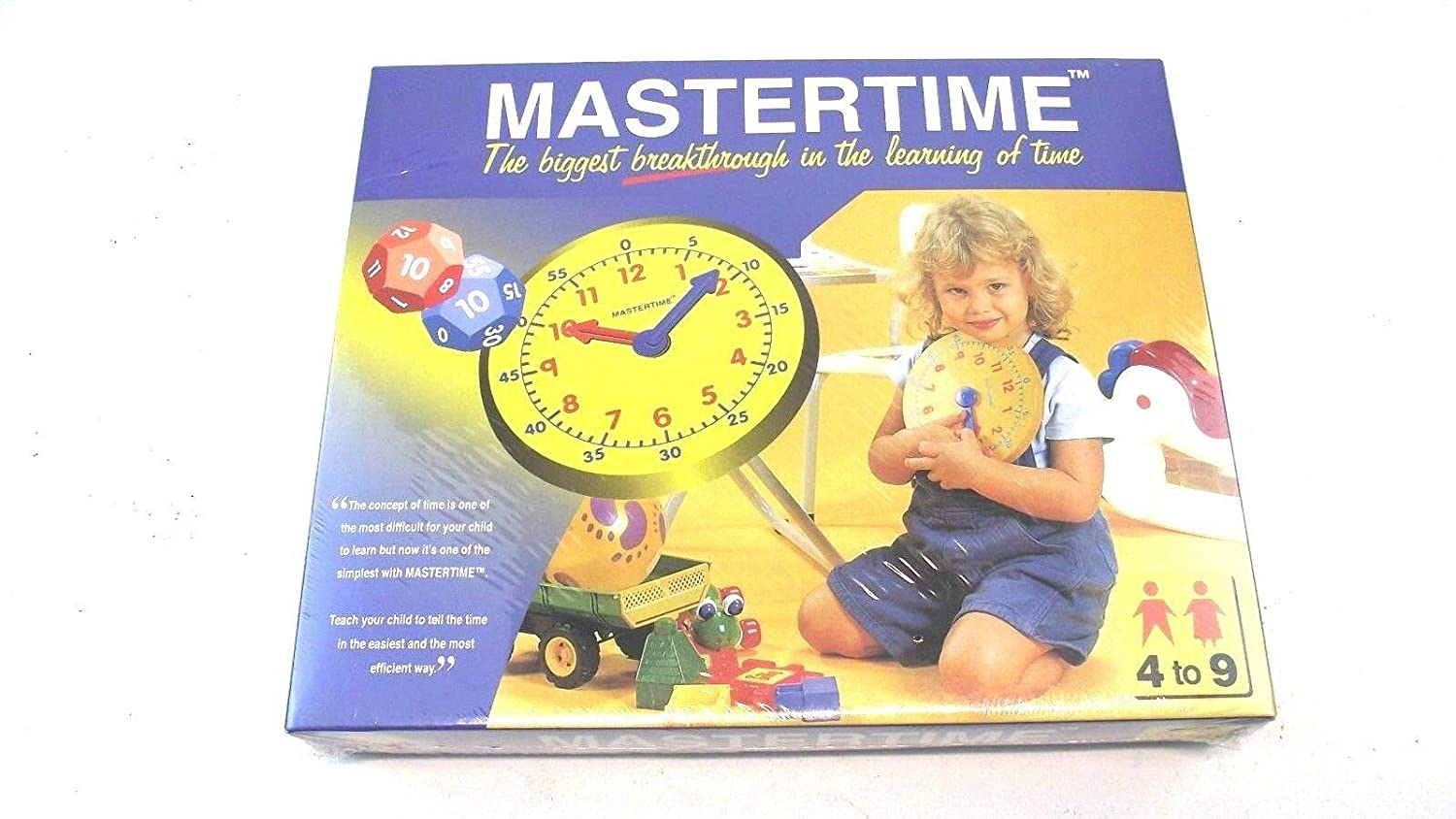 Mastertime ; the biggest breathrough in the learning of Time ; Ages 4-9 Math