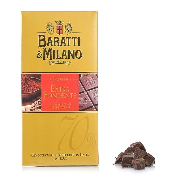 Baratti & Milano - TABLETA DE CHOCOLATE NEGRA EXTRA 70% DE ...