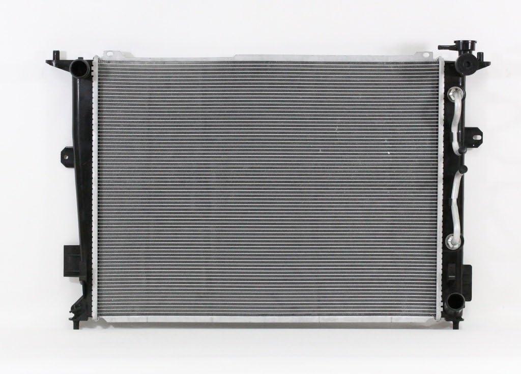 Radiator Cooling Direct For//Fit 13388 11-14 Hyundai Genesis Sedan AT V6 3.8L Plastic Tank Aluminum Core