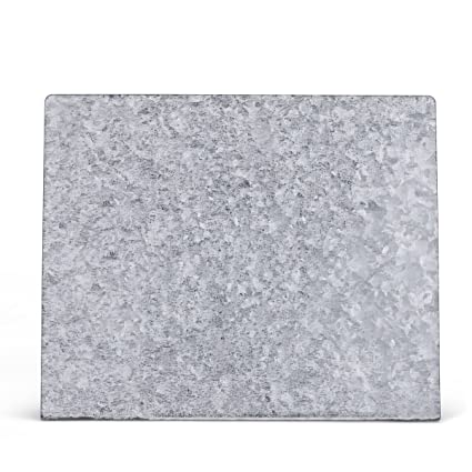 DEMDACO Galvanized Rectangle Free Standing Magnetic Memo Board