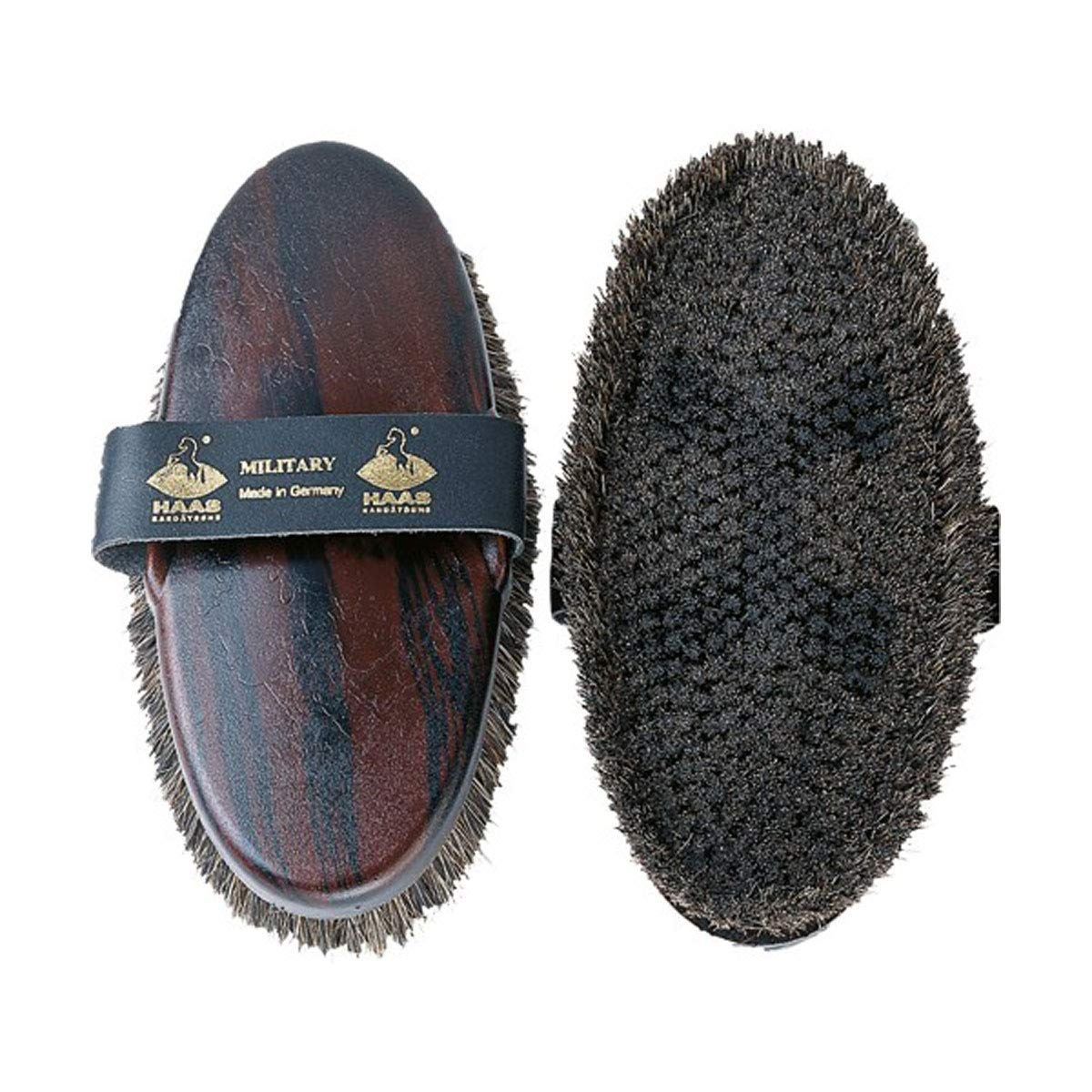 Haas Military Womens Body Brush (One Size) (Brown)
