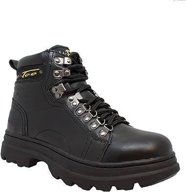 Steel Toe Work Boot Black
